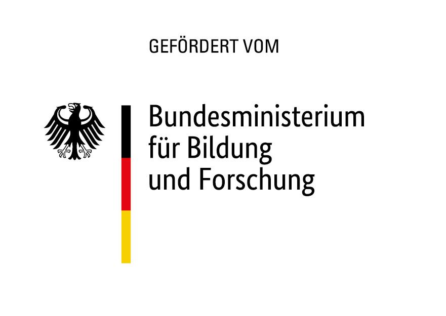 Logo Förderung durch Bundesministerium für Bildung und Forschung