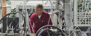 Hydraulikpruefstand an der Hochschule Ulm