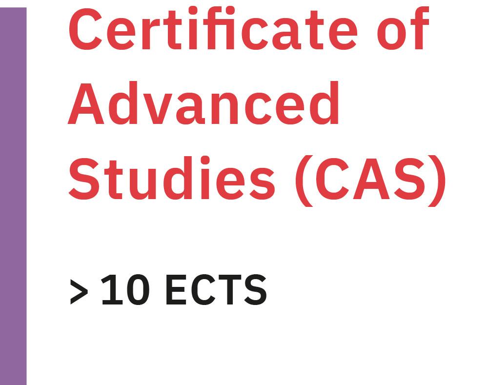 Infografik Abschluss Certificate of Advanced Studies